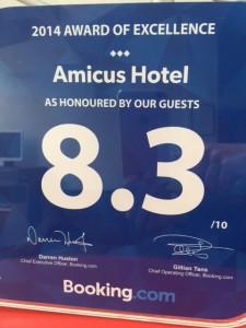 Geras viešbutis vilniaus centre - Amicus hotel 2014