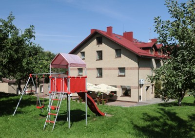 Oтели Вильнюса - Amicus hotel терраса