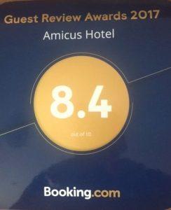Отзывы об отеле Amicus hotel
